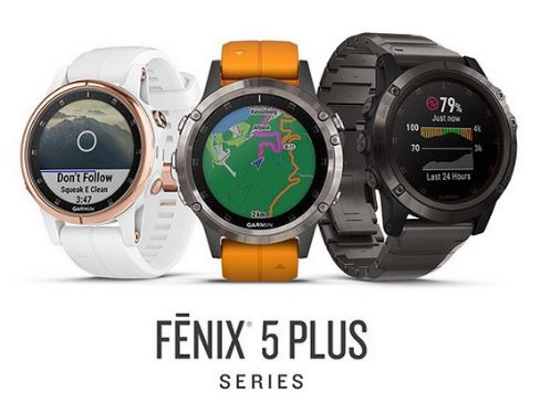 garmin fenix 5 plus family